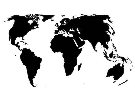 World map svg digital download file dxf dwg svg gumiabroncs Image collections