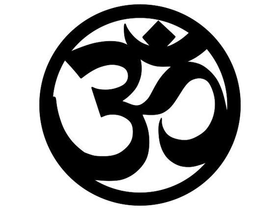 Om Svg Om Symbol Digital Download File Om Cutting File Etsy
