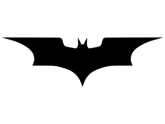 Bat Svg Batman Svg Batman Symbol Digital Download File Etsy