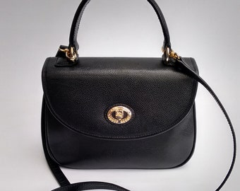 9124bf4ffae0 BURBERRY Bag. Burberrys Black Shoulder Satchel Bag . British designer purse.