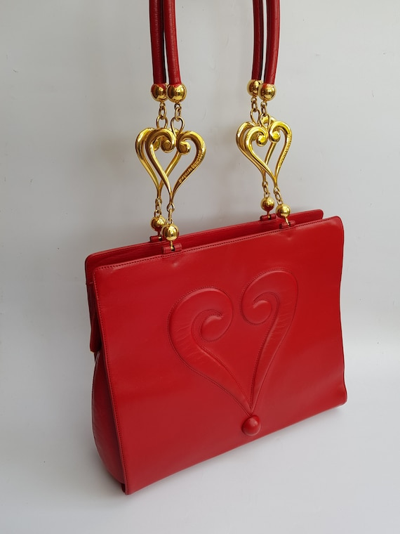 MOSCHINO Bag. Authentic Moschino Red  Question Mar