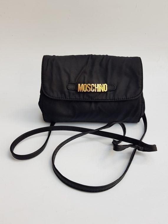 MOSCHINO Bag. Moschino by Redwall Black Shoulder b