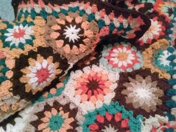 Hexagon Decke häkeln Sechseck Strickdecke Decke häkeln | Etsy