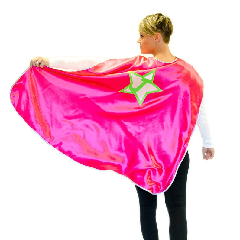 Adult Personalized Superhero Cape | Custom Superhero Cape with emblem and  initial