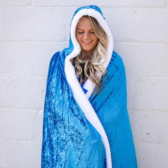 Everfan Adult King or Queen Royal Cape King or Queen Cloak Costume for Adults