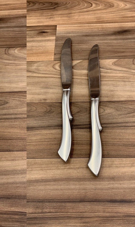 Choice of One Wallace Ballet replacement knife, Stainless Flatware, pattern WASBAL, Ballet by Wallace Flatware, Replacement Flatware