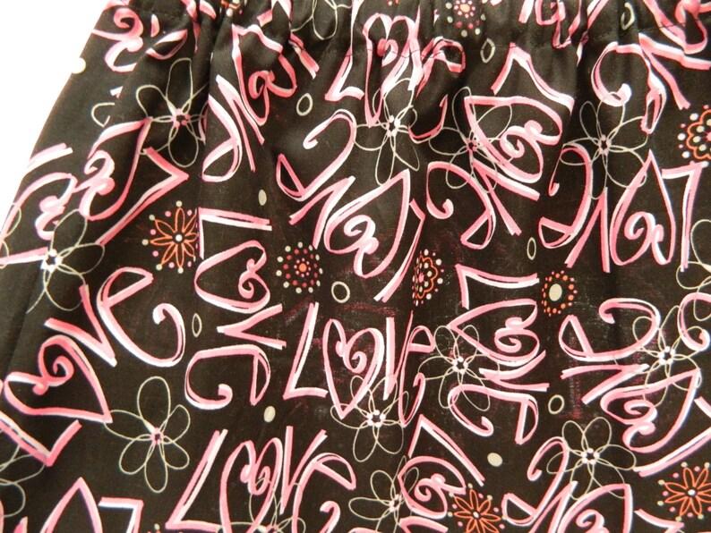 Love Elastic Waist Girls/' Skirt