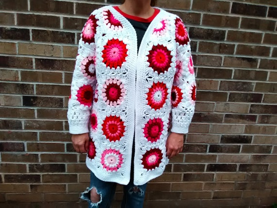 Oma Platz Pullover/Mantel Multi-Color | Etsy