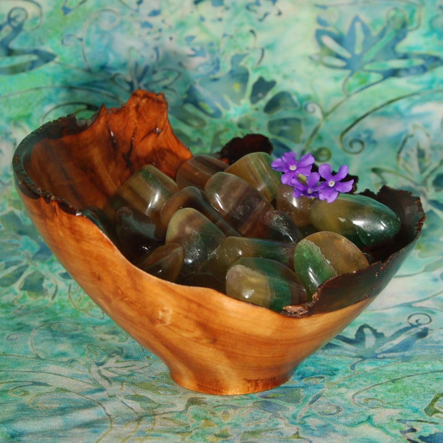 Ethically Sourced 1 JAGUAR STONE 1 Inch Tumbled Stone