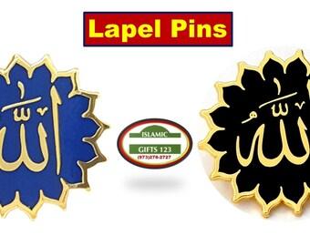 pins pin/'s flag national badge metal lapel hat button vest allah muslim islam