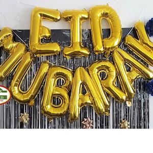 Eid festival Modern Minimalist Eid Mubarak banner Eid party decor Eid decoration Ramadhan decor eid garland Ramadan gift Eid decor