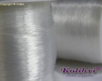 80 m Spool Clear Nylon Thread 0.3mm * * REDUCED PRICE