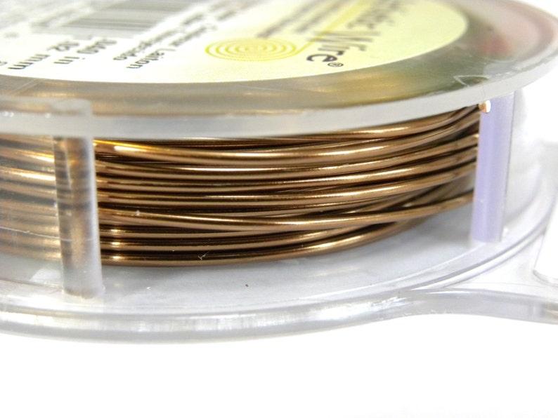 9.14 m - Antique Brass 10 Yds Beadalon Artistic Wire CraftJewellery Wire 1.0 mm 18 GA