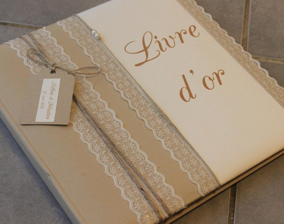 Livre D Or Gamme Mariage Champetre Chic