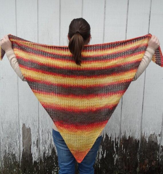 Dreieck Schal Damen Dreieck Schal häkeln Wrap | Etsy