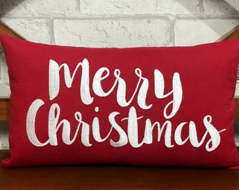 30 off merry christmas pillow christmas decorationswinter decorchristmas giftsfall gifts pillow form available in all sizes and colors