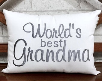 50% OFF sale Grandparents Pillow, READY To Ship, Father Mother Pillow, Personalized Grandma Grandpa Gift, Anniversary Love Gift pillow from