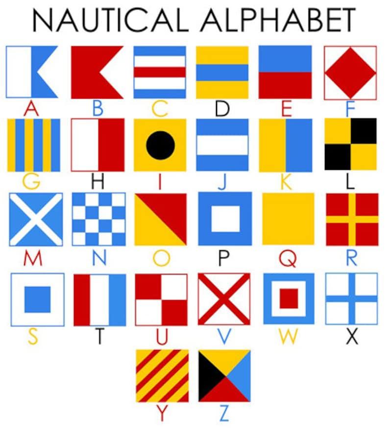 Ship Cottage Sailing Nautical 30/% OFF Custom Nautical Flag Alphabet Name Pillow Nautical Baby Shower Nautical Nursery Kids Room Decor