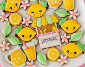Lemonade Mini Cookie Cutter Set