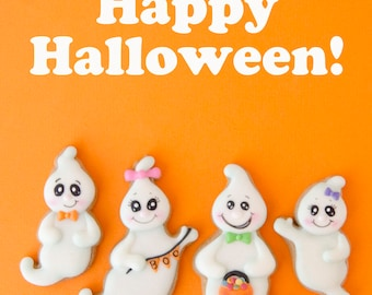 Ghost Family Cookie Cutter Set