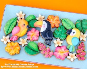 Tropical Birds Cookie Cutter Set