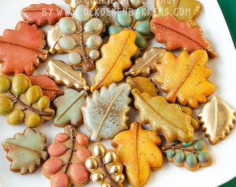 Autumn Leaves Cookie Cutter Set