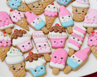 Ice Cream Cookie Cutter Set