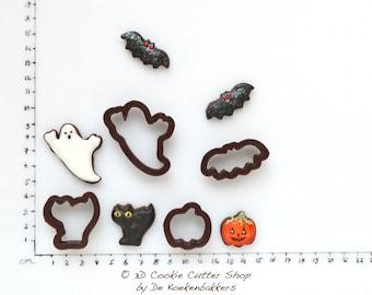 Halloween Micro Cookie Cutter Set
