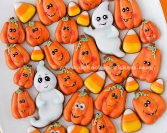 Pumpkin Micro/Mini Cookie Cutter Set