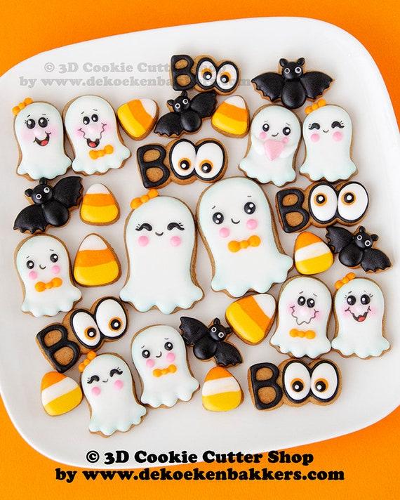 bu! Set di Tagliabiscotti Mini Halloween