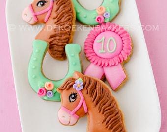 Horse Riding Cookie Cutter Set