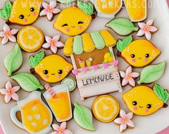 Lemonade Stand Cookie Cutter Set
