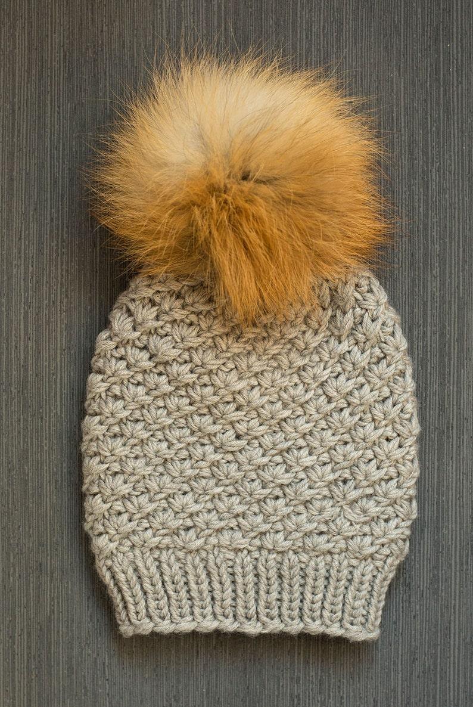 Cappello in lana merino di bambini con pom-pom extra-large  9dcf793d5716