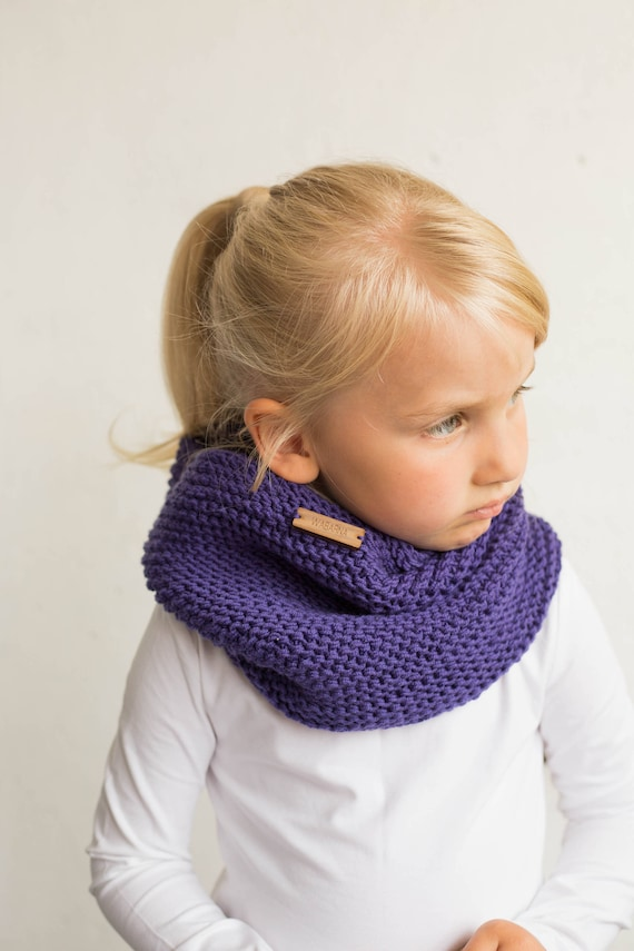 Wool cowl scarf baby shower gift merino wool cowl toddler neck warmer handknitted scarf knit cowl warmer baby scarf