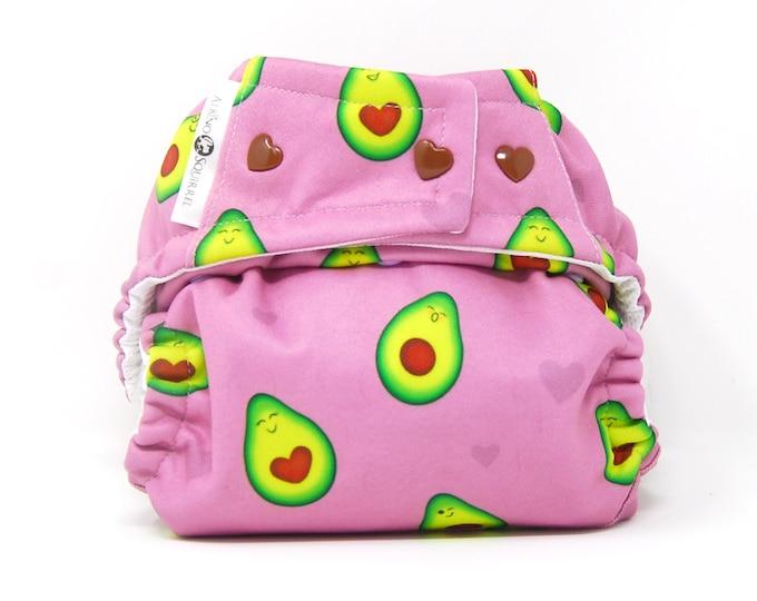 Avocados Cloth Diaper Cover or Pocket Diaper (One Size)