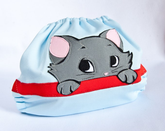 Aristocats Berlioz Cloth Diaper Cover or Pocket Diaper (One Size)