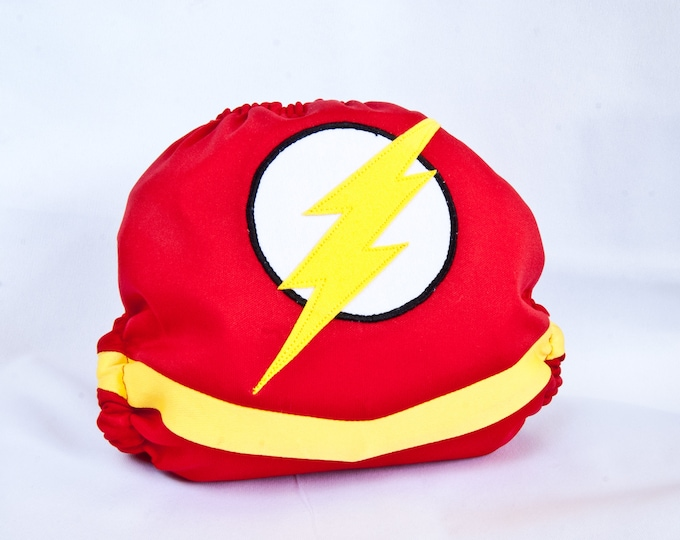 The Flash Cloth Diaper Cover or Pocket Diaper (One Size)