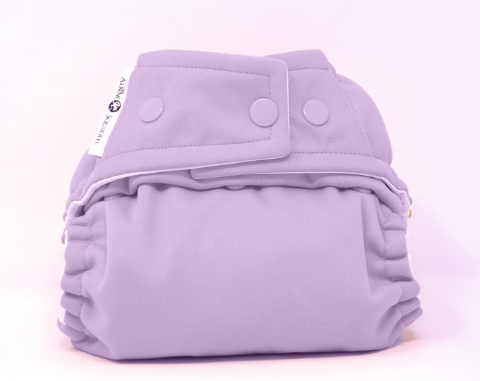 Lavendar Cloth Diaper, Pocket Diaper, Diaper Cover