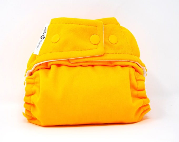 Sungold Yellow Cloth Diaper, Pocket Diaper, Diaper Cover