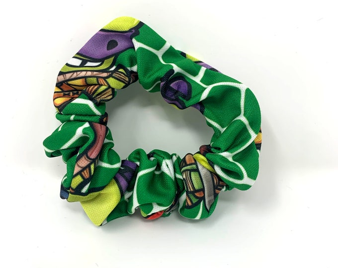 Turtle Ninja Scrunchy