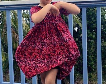 Cartwheel Dress PDF Pattern youth sizes 6-12