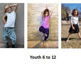 Big Kid Polliwog Pants (Youth 6 to 12)