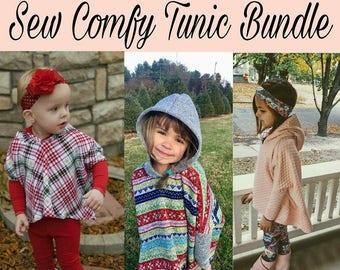 Sew Cozy Tunic Bundle Infant-Child-Youth (Preemie to 12)