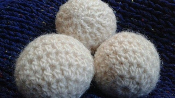 Crochet Wool Dryer Ball Pattern Pdf Etsy