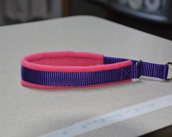 Limited slip dog collar - Cerise/Puprple - 35mm width