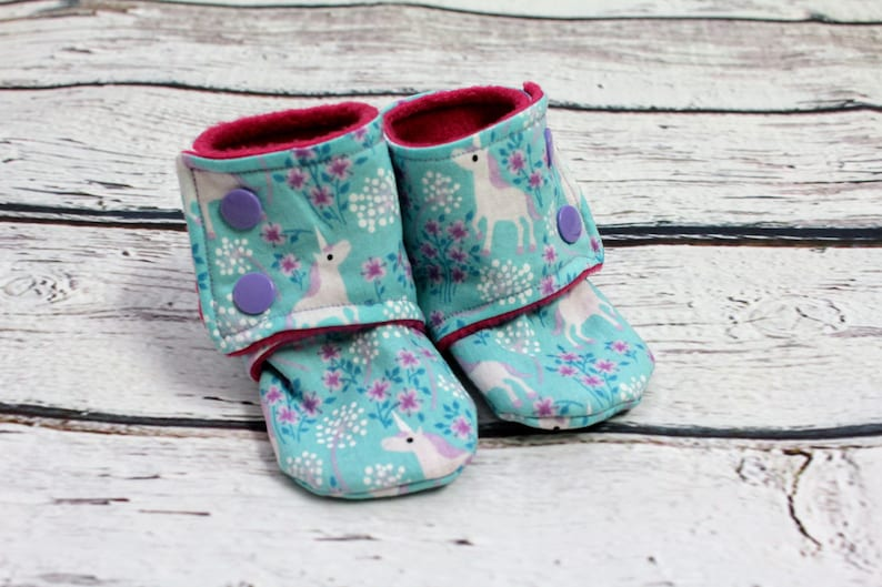 d72cd6c99cc37 baby girl booties - non slip baby shoes - baby boots - stay on booties -  fleece booties - infant shoes - baby booties - baby shower gift