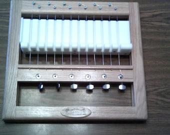"3/4""  handmade wooden 16 bar multi wire soap cutter solid oak and hdpe bed multi soap cutter soap loaf cutter soap cutters"