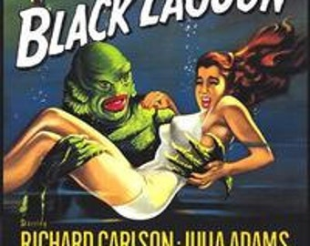 Creature from The Black Lagoon Poster 24 X 36 inches