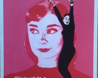 Audrey Hepburn Funny Face  16 X 20 POSTER