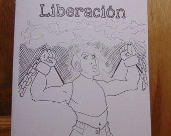 Liberación Poetry Zine By Nik Moreno   Liberación Chap Book   QTPOC Poetry   Chicano Poetry